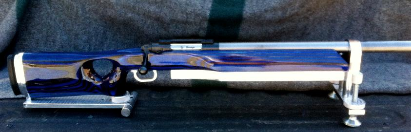 Custom stocks savage 212 blue and black sciox Images